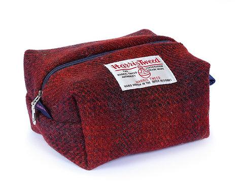 Kit Bag - Chilcott Harris Tweed Red Ombre