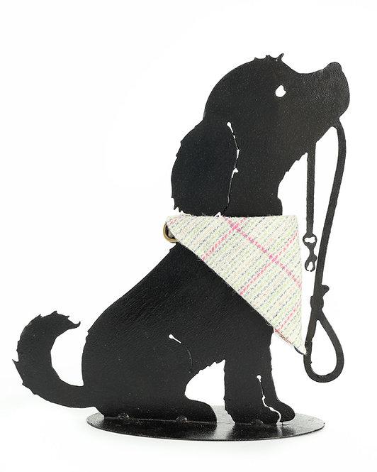 Dog Cravats - Chicott Harris Tweed - Cream