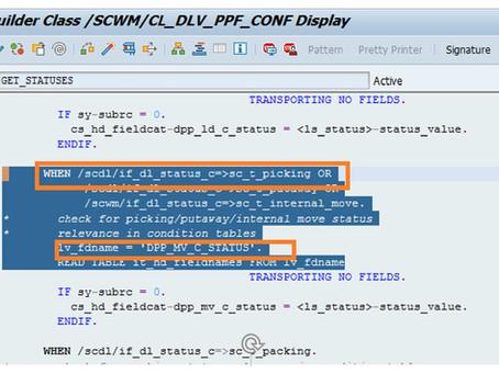 SAP EWM PPF for Auto Post Goods Issue(PGI)