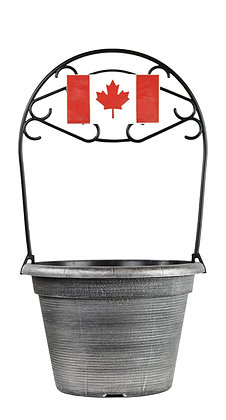"12"" Canadian Flag 2-Gal"