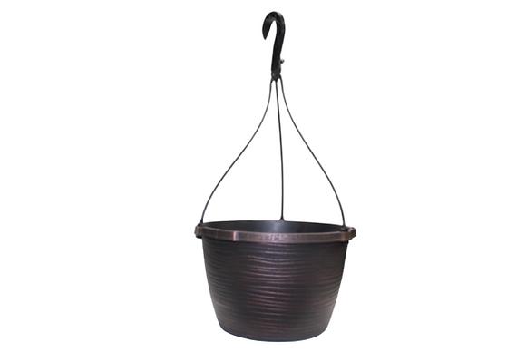 """10"""" Veronica Hanging Basket 1.5-Gal"""