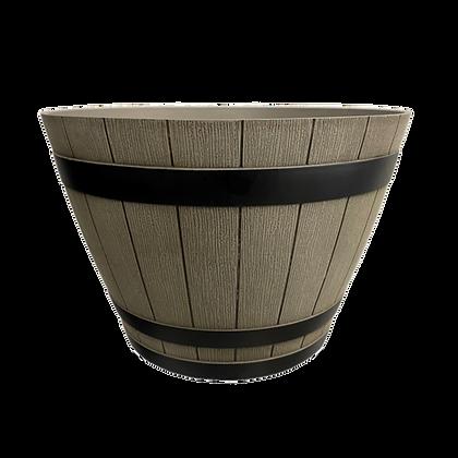 """9"""" Whiskey Barrel 1-Gal"""