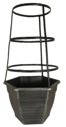 """11.5"""" Sloan Hex Tomato Cage 2.5-Gal"""