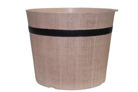 "8"" Shiplap Bucket 1-Gal"