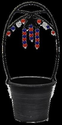 """9"""" Hanging Beads 3-Qt"""