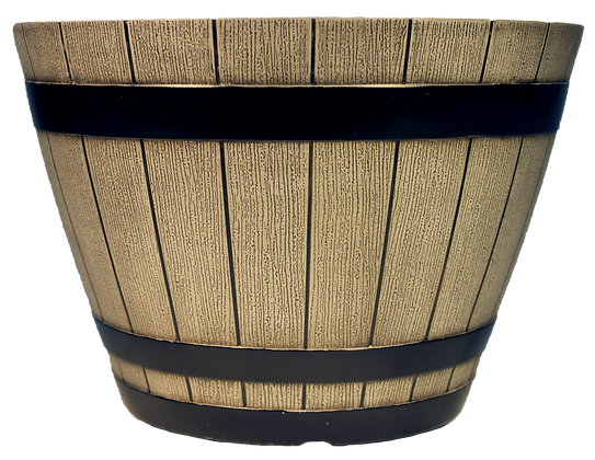 "12"" Whiskey Barrel 2.5-Gal"
