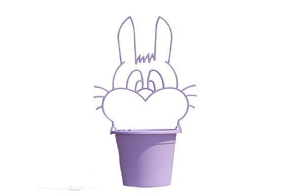 "9"" Bunny Frame 1-Gal"
