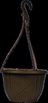 """11"""" Kenzie Hanging Basket 1.7-Gal"""