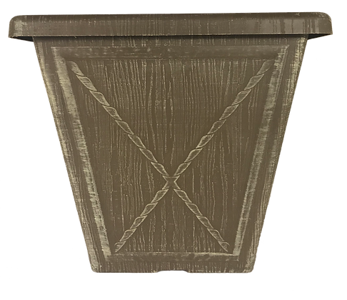 """11"""" Kenzie Wood Texture 2.5-Gal"""