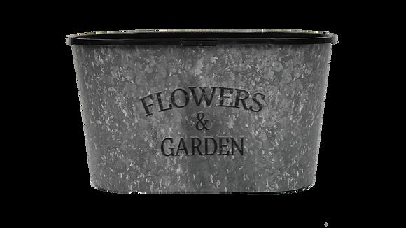 """10"""" Flowers & Garden Oval"""
