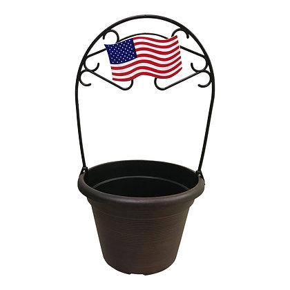 "12"" American Flag 2-Gal"