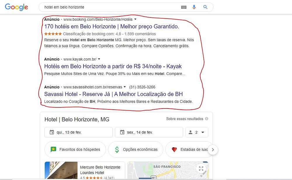 google hotel ads-explicação