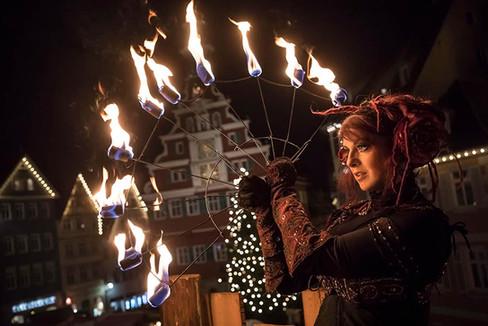 Feuershow Esslingen am Neckar