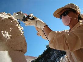 Sculpture colony at Visocani Quarry