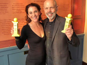 "Faline received an Indy award for acting along side Joe Spano ""Heisenberg"""