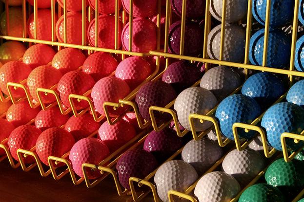 ミニチュアゴルフボール
