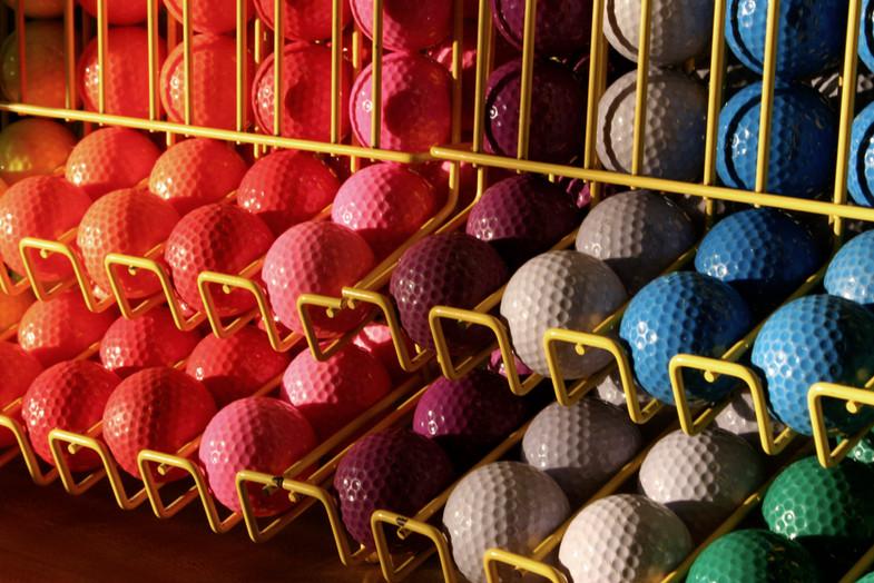 Balles de golf miniature