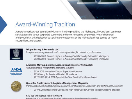 Award-Winning Tradition