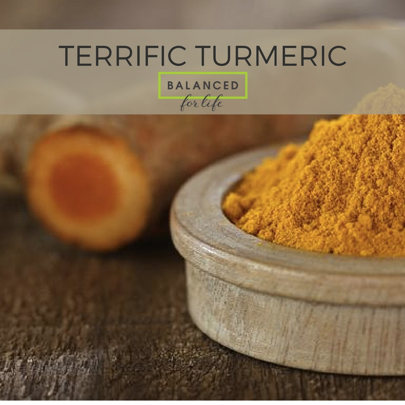 It's Just Golden: Terrific Turmeric the Anti-Inflammatory Wonder.