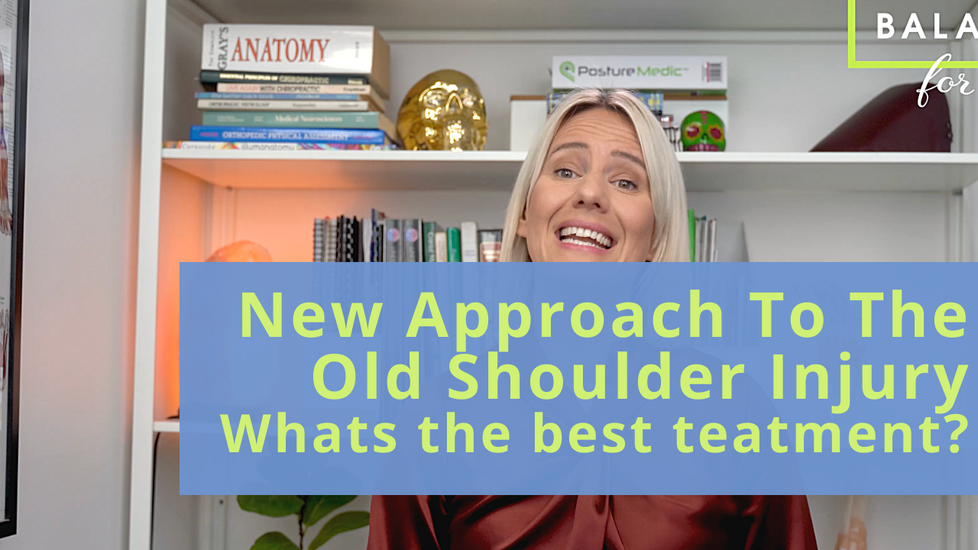 New Approach To The Old Shoulder Injury
