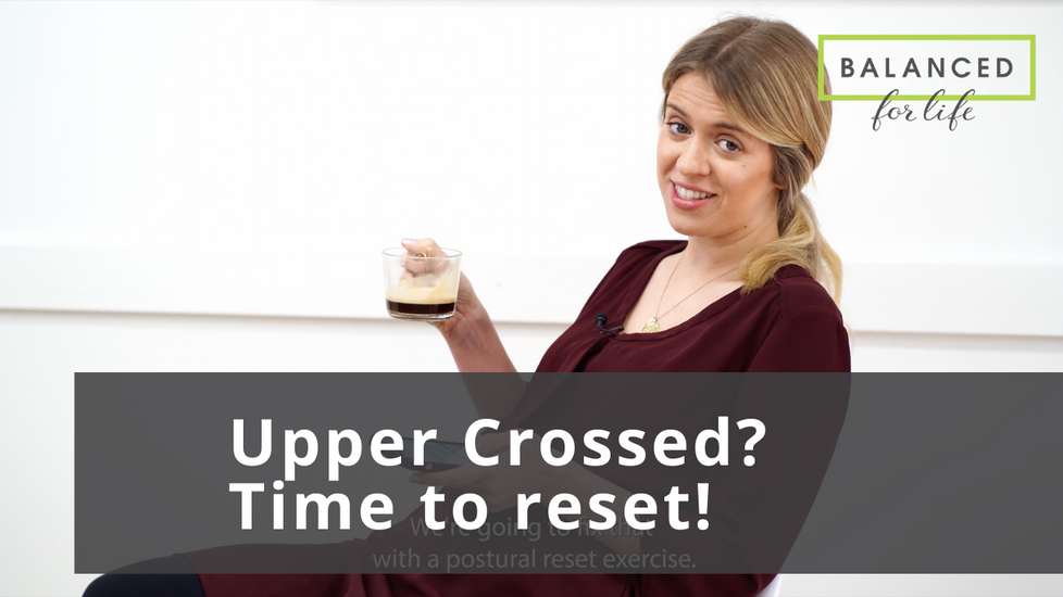 Do you have Upper Cross Syndrome? Read on if you don't know what that means!