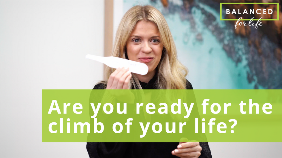 What does it take to get ready for the climb of your life?