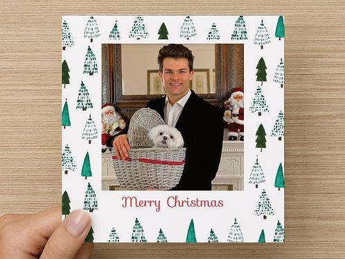Hand-written Personal Christmas Card