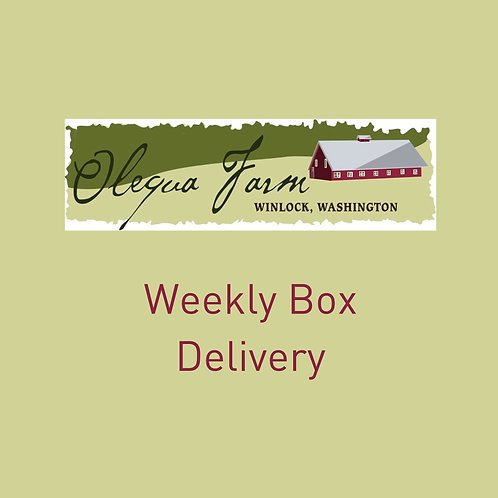 Weekly Box Delivery (20 deliveries)