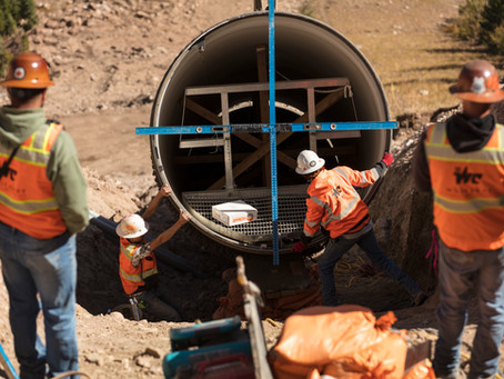 North Fork Siphon- Overall Utility InfrastructureProject of 2020