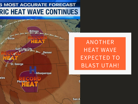 Simply put, it's going to be *very* hot in Utah.