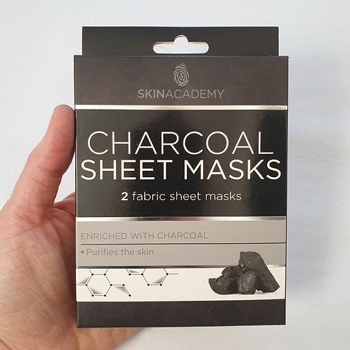 Charcoal Sheet Mask Pack
