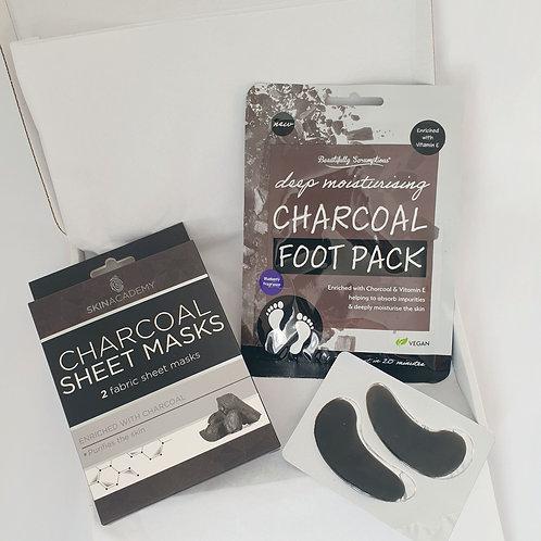 Charcoal Pamper Gift Box