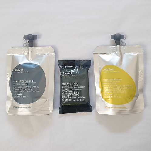 Anyah Spa Treatment Pack (Vegan Friendly)
