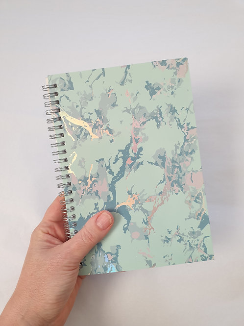 Marble effect Notebook