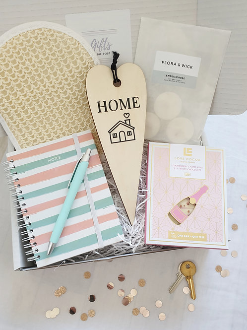New Home Notebook Gift Box