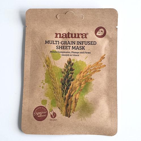 Multigrain Infused Sheet Mask (Vegan)
