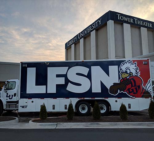 LFSN Truck Wrap