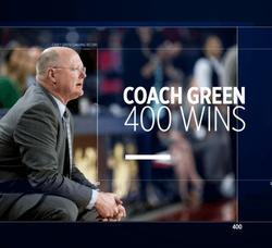Coach Green 400 Wins
