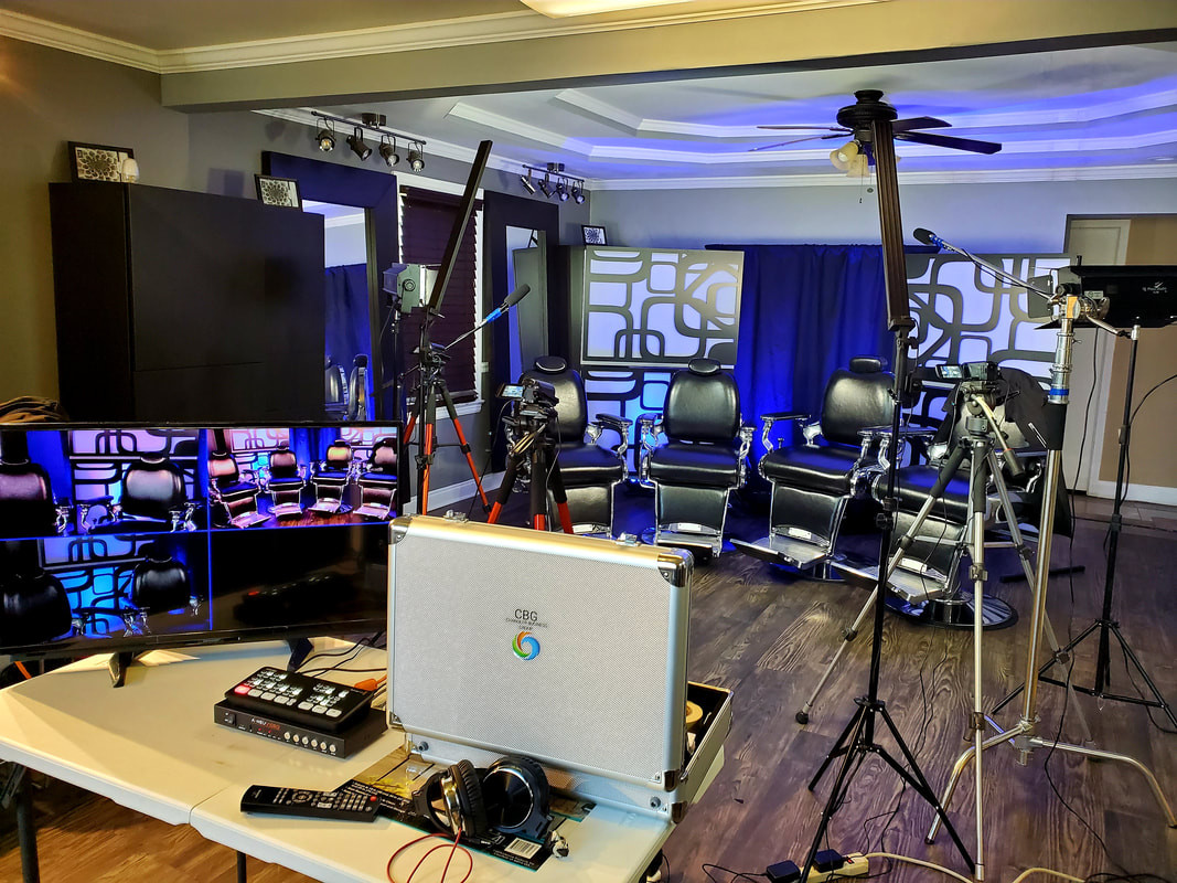 We Bring the Set Production to You!