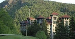 États-Unis -  Le New-Hampshire en grand hôtel