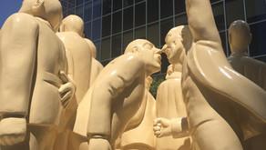 Une sculpture bien montréalaise