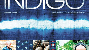 Indigo, périple bleu d'une créatrice textile