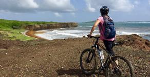 À vélo V.T.T. au sud du sud martiniquais -  Avec V.T.Tilt'Sari