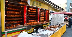France - Au marché du samedi de Bourg Saint-Maurice dans la vallée de la Tarentaise