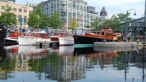 La métropole surfe sur la vague du bateau classique