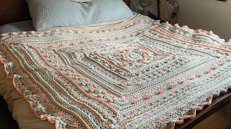 Custom Crochet Blanket