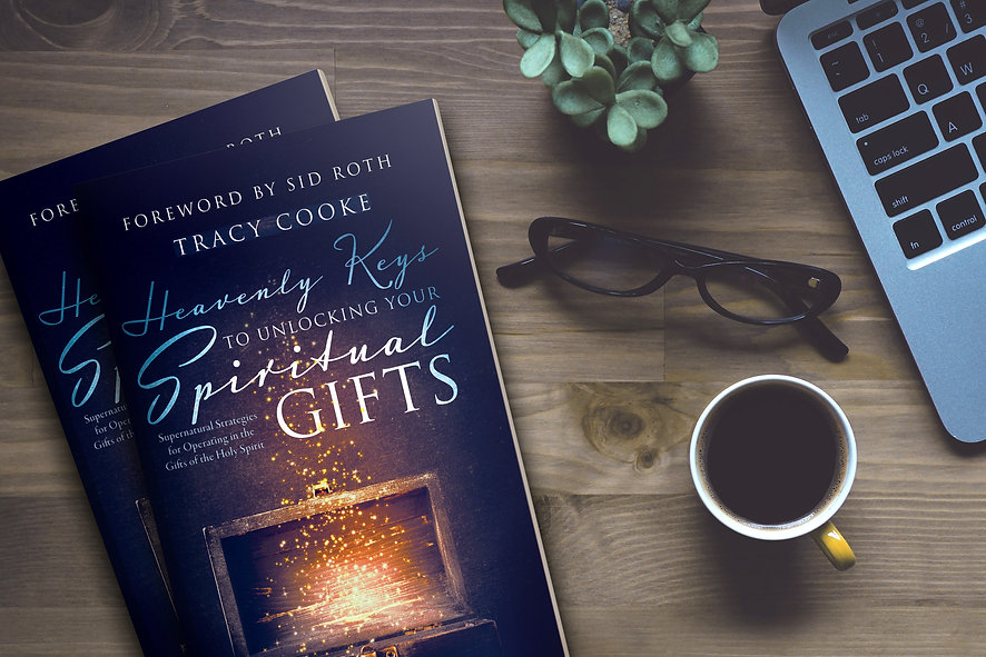 Tracy Cooke Heavenly Keys To Unlocking Your Spiritual Gifts Book