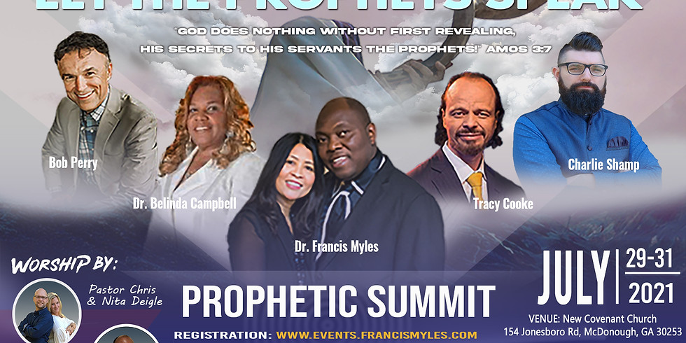 Let The Prophets Speak, hosted by Dr. Francis Myles
