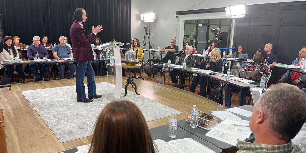 LIVE MASTERCLASS Season 1 of the Elisha Training Center