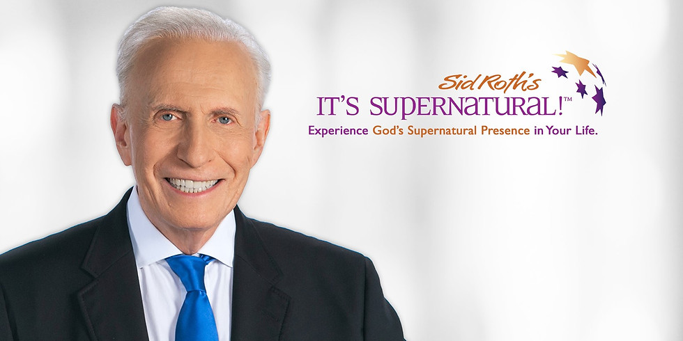 Prophet Tracy Live Broadcast on Sid Roth's It's Supernatural